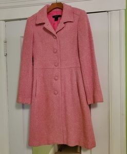 ARDEN B LUXE pink trench coat